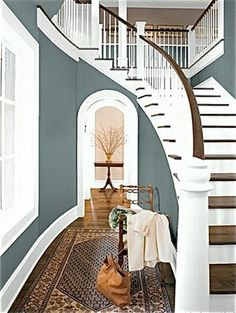 Benjamin Moore Knoxville Gray HC160 Love this color for master bath