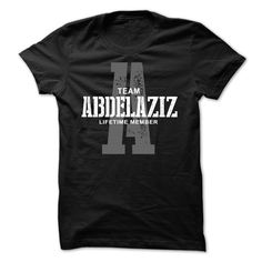 [New last name t shirt] Abdelaziz team lifetime member ST44  Free Ship  Abdelaziz team lifetime member.  Tshirt Guys Lady Hodie  SHARE and Get Discount Today Order now before we SELL OUT  Camping dragon celtic name tshirt hoodies last name team lifetime member