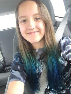 Kids Hair Color, Hair Colour, Dyed Hair Ombre, Colored Hair, Hoe, Summer Hairstyles, My Girl, Hair Ideas, Colors