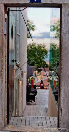 the view at chapito bar, lisbon