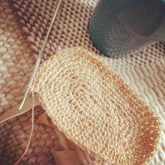 Les projets d'été démarrent. #jute #crochet #crocheting #crochetersofinstagram by ceibohandmade