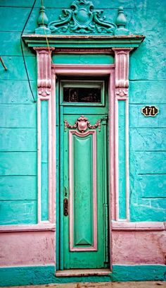 Cuba's colorful architecture