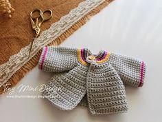 Amigurumi Tini Mini Kız Yapılışı-Free Pattern Tini Mini Dolls - Tiny Mini Design Knitting PatternsCrochet For BeginnersCrochet PatronesCrochet Bag Crochet Gifts, Crochet Dolls, Easy Crochet, Crochet Clothes, Crochet Baby, Free Crochet, Diy Finger Knitting, Free Knitting, Crochet Stitches