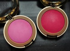 Beautiful! @Milani Cosmetics new matte Baked Blush in Delizioso Pink and Bella Rosa.