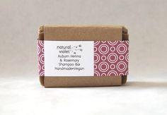 $5 + shipping 4.5-5 oz...Auburn Henna Rosemary Shampoo bar  Shampoo Bar by naturalviolet