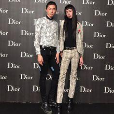 很开心thanks@dior . . #男模特兒#時尚模特兒 #穿搭 #東洋 #亞洲 #東京時尚 #럽스타그램 #fashion #model #shooting #japan #photo#artwork #art #japanes #man #boy #tokyo#fashionmodel #asianmodel