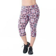c63c4c6680f Courtney Print Capri – Rainbeau Curves - Plus Size Clothing and Activewear