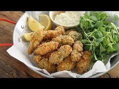 술안주로 최고! 굴튀김과 타르타르 소스 : Fried Oysters with tartar sauce [아내의 식탁] - https://www.youtube.com/watch?v=3lVUL7MWN2s