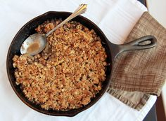 The Best Apple Crisp EVER!! SERIOUSLY!   Feastie