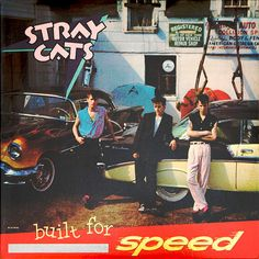 Stray Cats Built For Speed – Knick Knack Records