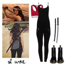 """""""Kira Yukimura 5x13 - tw / teen wolf"""" by shadyannon ❤ liked on Polyvore featuring mode, VILA, Dr. Martens, Calvin Klein en M&Co"""