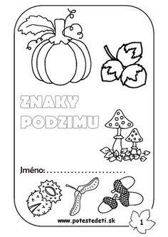 . Podzim | Předškoláci - omalovánky, pracovní listy - strana 2