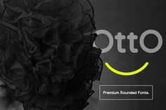 Otto Beautiful Rounded Fonts by Kongkow on @creativemarket