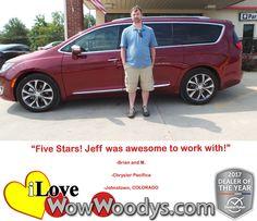 """""""Five Stars! Jeff wa"""