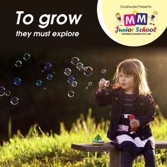 Playing is one of the most important things because play is essential for child's brain development and growth. At MM Junior School, we give children space to grow and explore themselves.  #MMJuniorSchool #Nursary #Kindergarten #PlaySchool