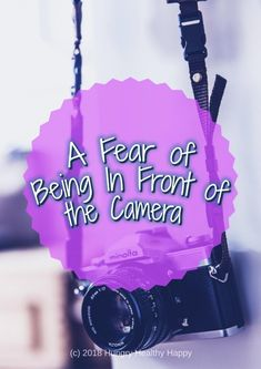 A Fear of being in front of the camera title picture