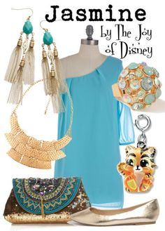 Outfit inspired by Jasmine from the movie Aladdin!