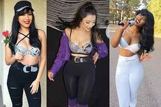 These Are The Greatest Selena Quintanilla Halloween Costumes Of 2016 28 der kultigsten Selena Quintanilla Halloween-Kostüme von 2016 Selena Quintanilla Halloween Costume, Selena Costume, Selena Quintanilla Outfits, Creative Halloween Costumes, Halloween Costumes For Girls, Halloween Kostüm, Couple Halloween, Halloween Makeup, Halloween Decorations
