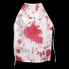 Cook up tasty halloween treats and potions in the kitchen with this horror apron with fake blood splatters! Alos use as part of a costume to scare your guests with. Halloween Items, Creepy Halloween, Halloween Fancy Dress, Halloween Treats, Halloween Costumes, Fancy Dress Accessories, Halloween Accessories, Fake Blood, Go Shopping