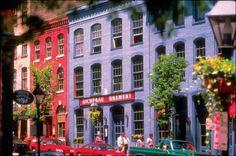 Historic Shockoe Slip neighborhood (Richmond, VA)
