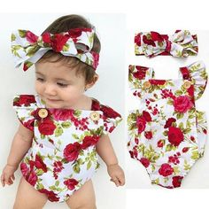 Kids Baby Boy Girl Prêle ange Combinaison Body Vêtements Tenue de fête
