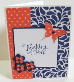 Paper Craft Crew Card Sketch #134 design team submission by Janice Rosenthal Rock. #stampinup #janicerosenthal