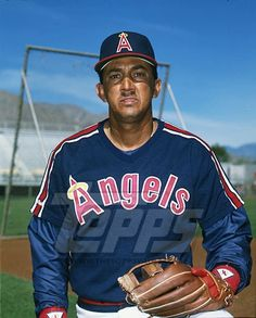 Davey Concepcion with the Angels.