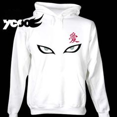 Buy Gara Hoodie at Wish - Shopping Made Fun Anime Outfits, Cool Outfits, Bleach Hoodie, Diy Shirt, Tee Shirts, Naruto Clothing, Naruto Merchandise, Gaara, Kakashi