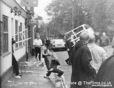 Retro Galleries – Old School Hooligan Pics Football Hooliganism, British Football, School Football, Galleries, Old School, Soccer, Retro, House, Futbol