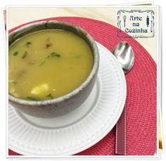 Arte na Cozinha: Sopa de abóbora, cenoura e batata doce