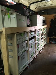 Sys-AZ drawers in Sprinter