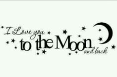 TO THE MOON AND BACK!