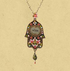 kabbalah hamsa necklace
