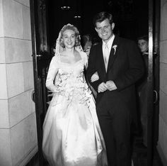 If you were born in 1958, that was the year the Kennedy clan had another big wedding to mark the year - youngest son Teddy Kennedy married pretty Joan Bennett and their photos were in all the magazines.