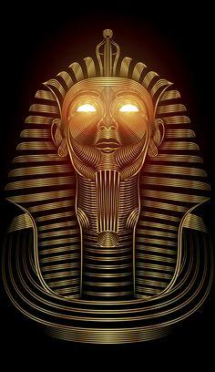 Golden Pharaoh on Behance