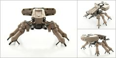 Spider Tank multi pic by paulblythe on deviantART