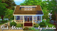Oak Alcove house in Newcrest at Jenba Sims via Sims 4 Updates