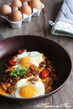 Vegetarian Cooking, Vegetarian Recipes, Healthy Recipes, Frittata, Gourmet Breakfast, Brunch, Eating Organic, Food Inspiration, Italian Recipes