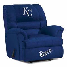 Kansas City Royals MLB Big Daddy Recliner Chair/Furniture