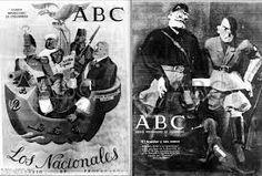 Propaganda en el A B C del frente popular