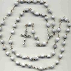 Handmade - Job's Tears Rosary - Favorite of Mother Teresa | LoisUniqueCustomKreations - Jewelry on ArtFire