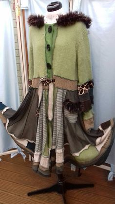 Check out this item in my Etsy shop https://www.etsy.com/uk/listing/477721976/elven-pixie-upcycled-hooded-coat