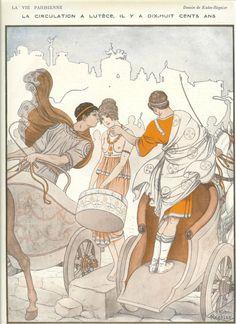 1920's Original Art Deco La Vie Parisienne  by printsandpastimes, £8.00