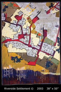 Referenced Dharma Trading Co.. (Unknown). Valerie S. Goodwin R.A. | Cartographic Art Quilts. Retrieved from http://www.dharmatrading.com/featured/564/.