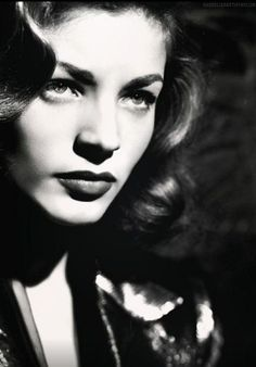 Lauren Bacall (or Old Hollywood Stars, Golden Age Of Hollywood, Vintage Hollywood, Hollywood Glamour, Hollywood Actresses, Classic Hollywood, Lauren Bacall, Vintage Glamour, Vintage Beauty