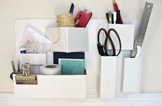 Ideia de Organizador de Papelão para Parede | Reciclagem no Meio Ambiente