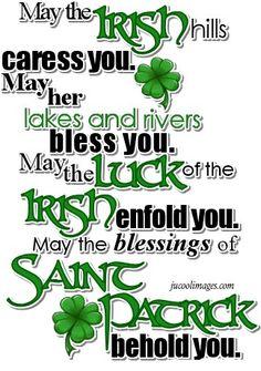 .irish blessing by catrulz