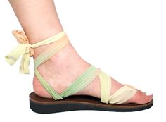 You can buy 4 wedding sandals and get the bride's pair free! Pretty sweet deal on Sseko sandals.