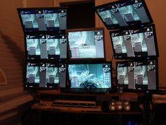 8 Monitor Computer System by Multi-Monitors.com, via Flickr