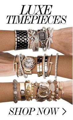 LUXE TIMEPIECES // Rolex, Cartier, Jaeger Le Coultre, Hermès, Movado, Baume Mercier... Authenticity Guaranteed!